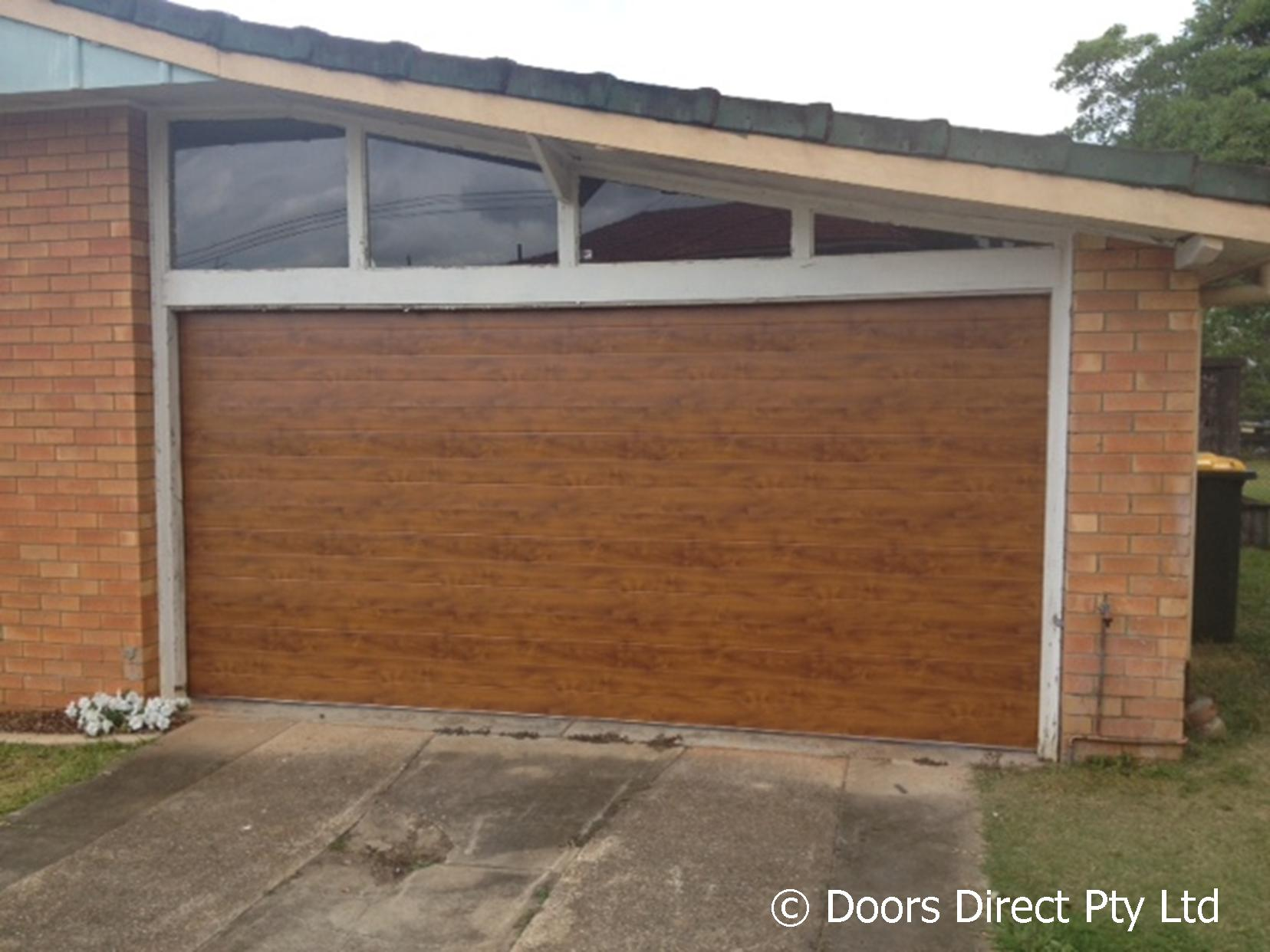 Timber Look Sectional Doors Gallery