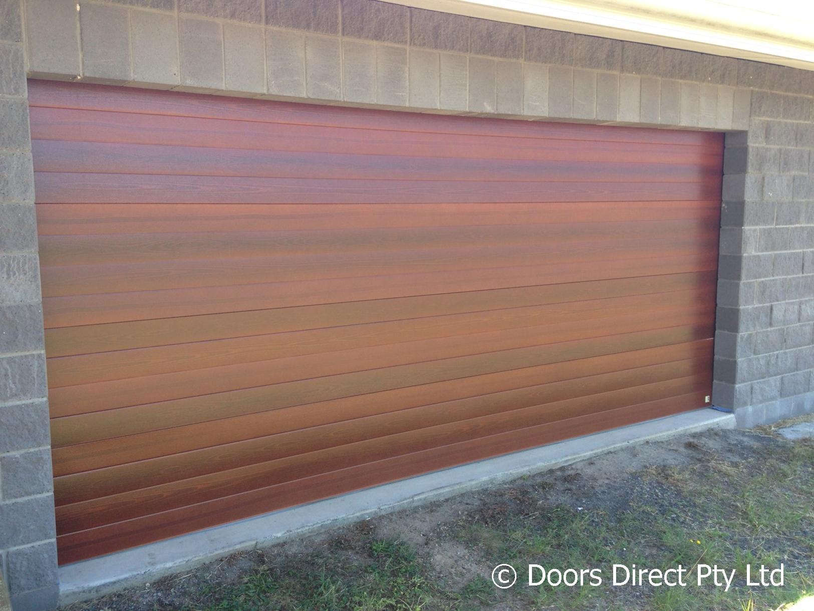 Timber Look Sectional Doors Gallery