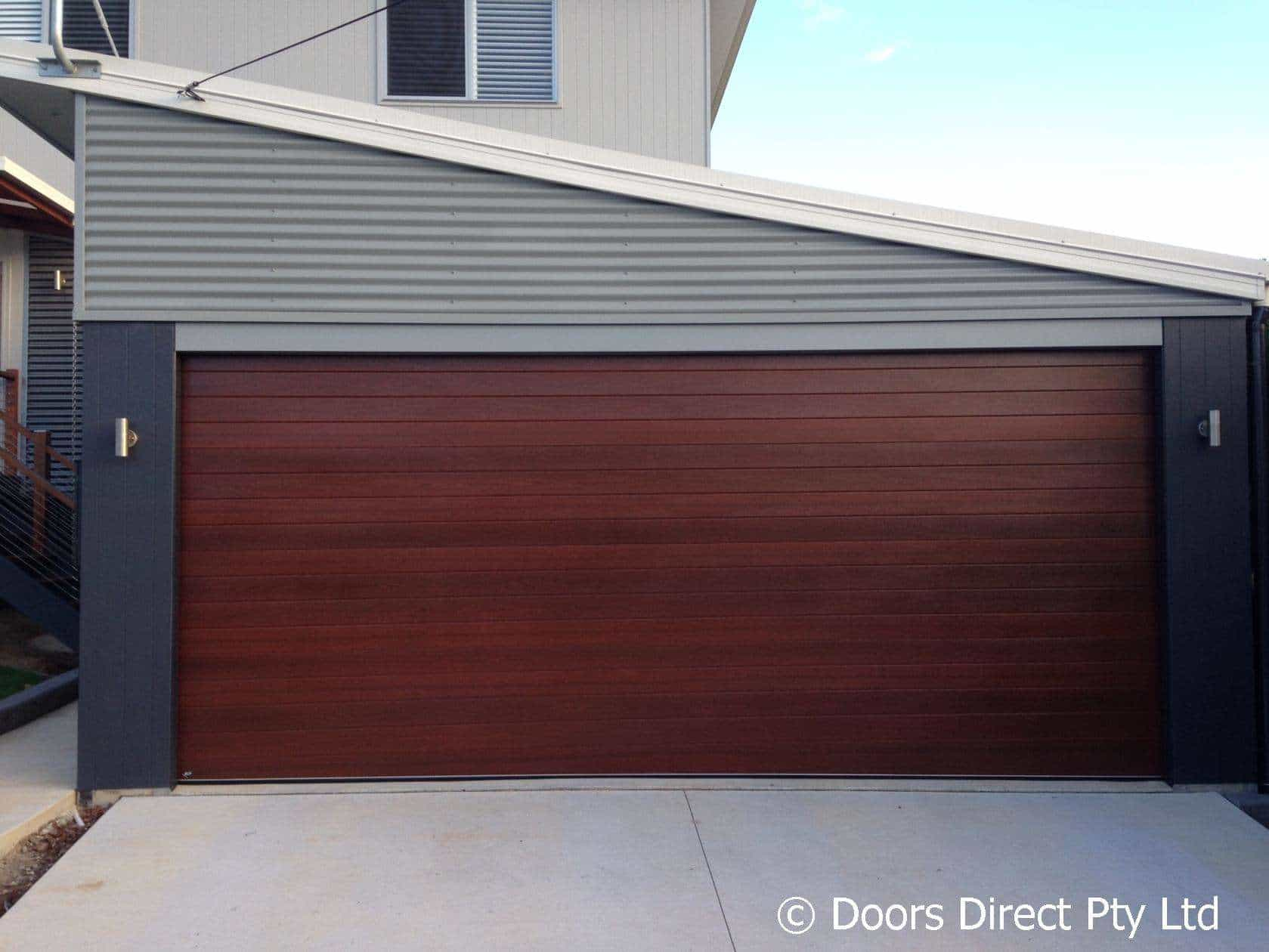Timber Look Garage Doors Doors Direct