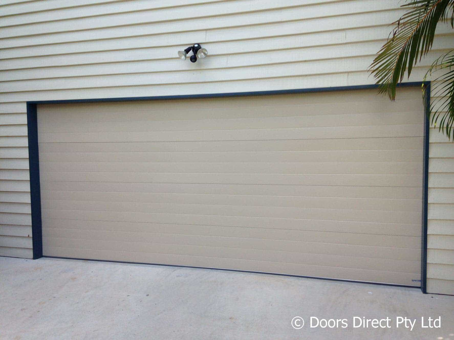 1330 #5D4E34 Sectional Garage Door Motors Brisbane Doors Direct image Overhead Doors Direct 38431774