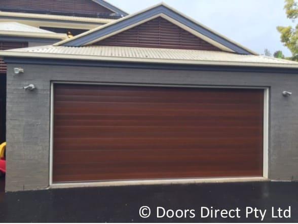Sectional Doors Timber Look Doors Direct
